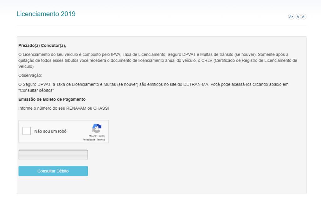 Licenciamento 2020 MA